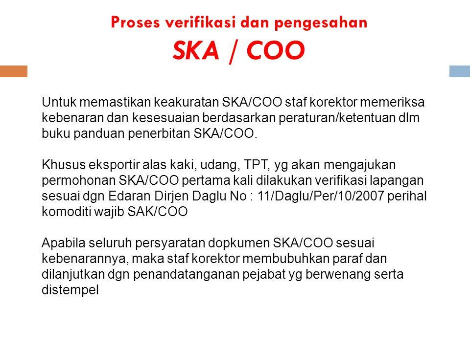 Proses verifikasi dan pengesahan