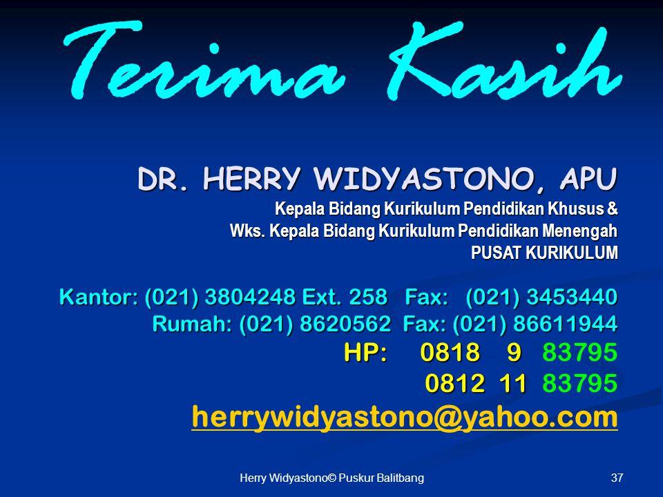Herry Widyastono© Puskur Balitbang
