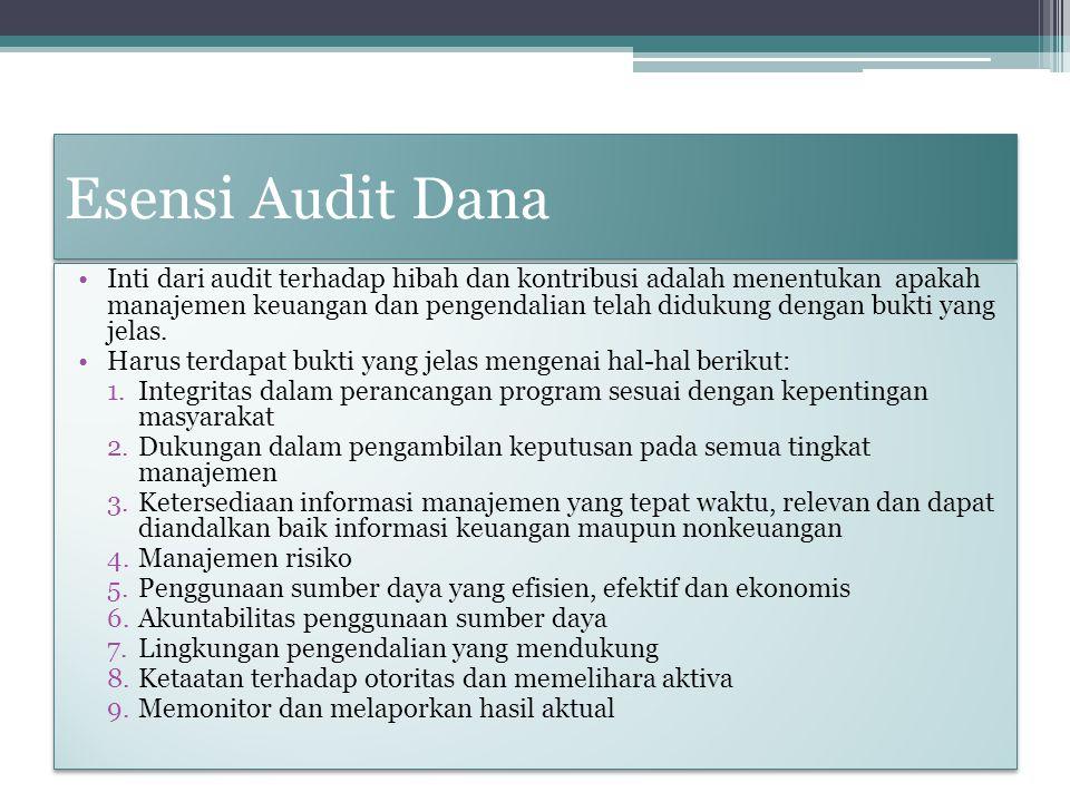 Esensi Audit Dana