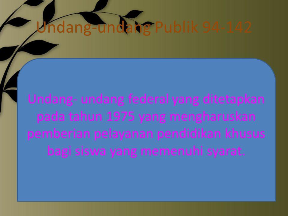 Undang-undang Publik 94-142