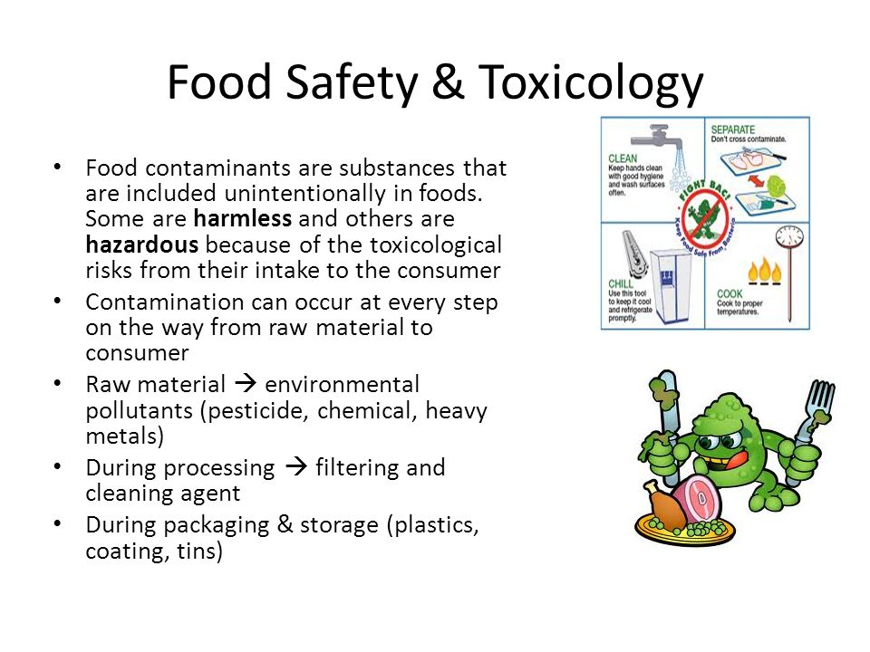 Food Safety & Toxicology