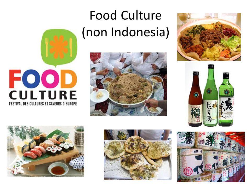 Food Culture (non Indonesia)