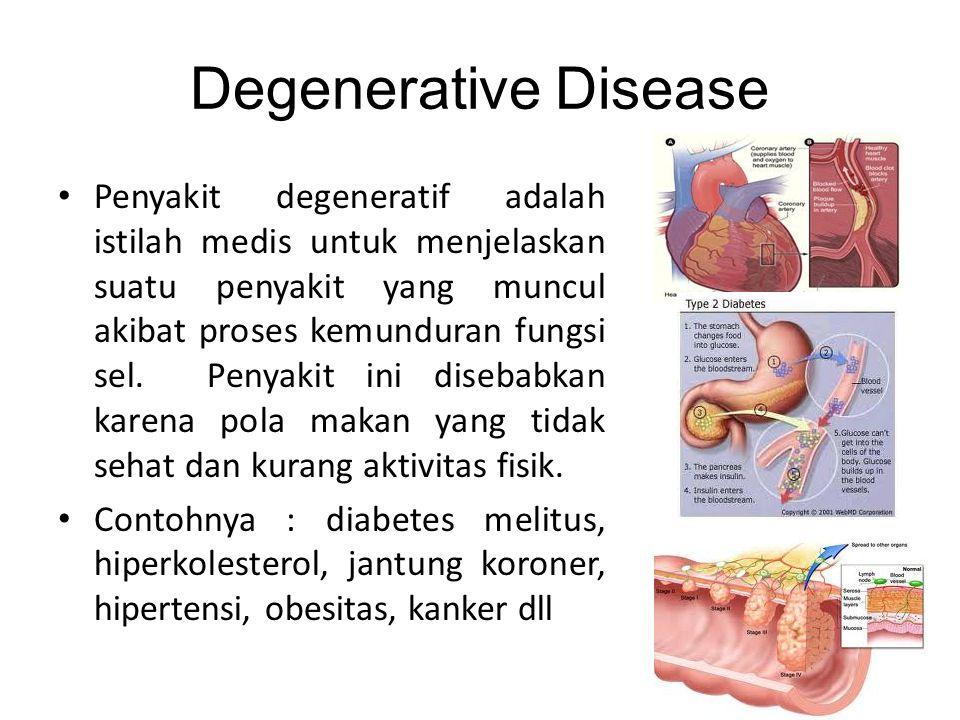 Degenerative Disease