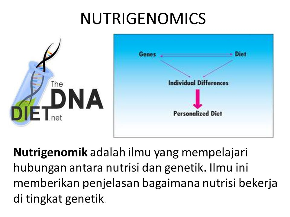 NUTRIGENOMICS