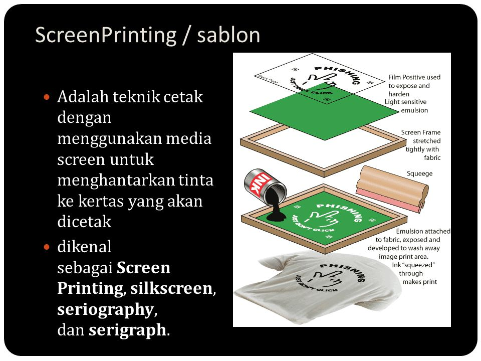 ScreenPrinting / sablon