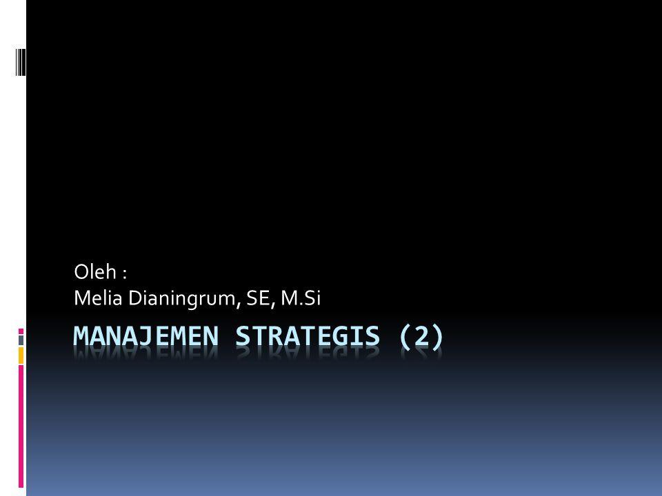 Manajemen Strategis (2)