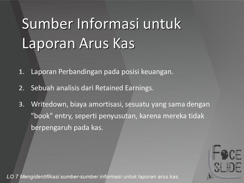 Sumber Informasi untuk Laporan Arus Kas