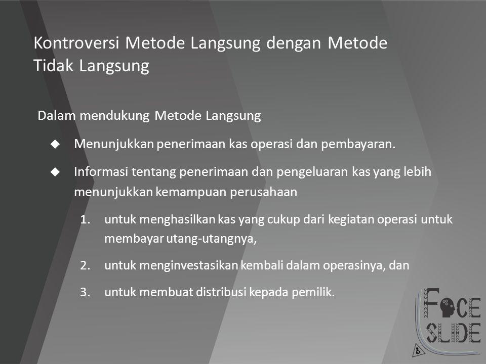 Kontroversi Metode Langsung dengan Metode Tidak Langsung