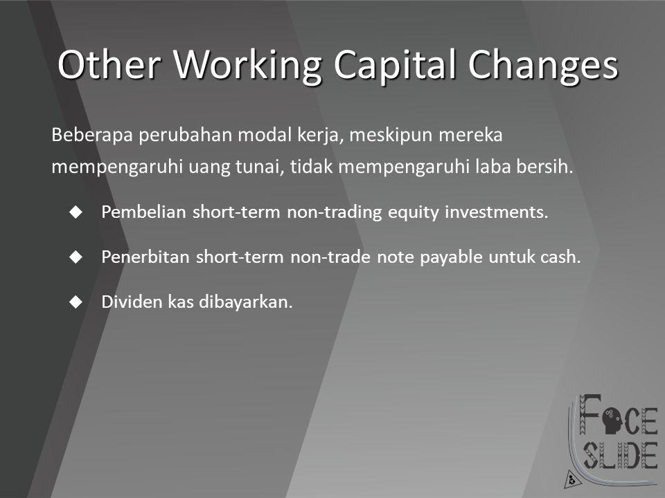 Other Working Capital Changes