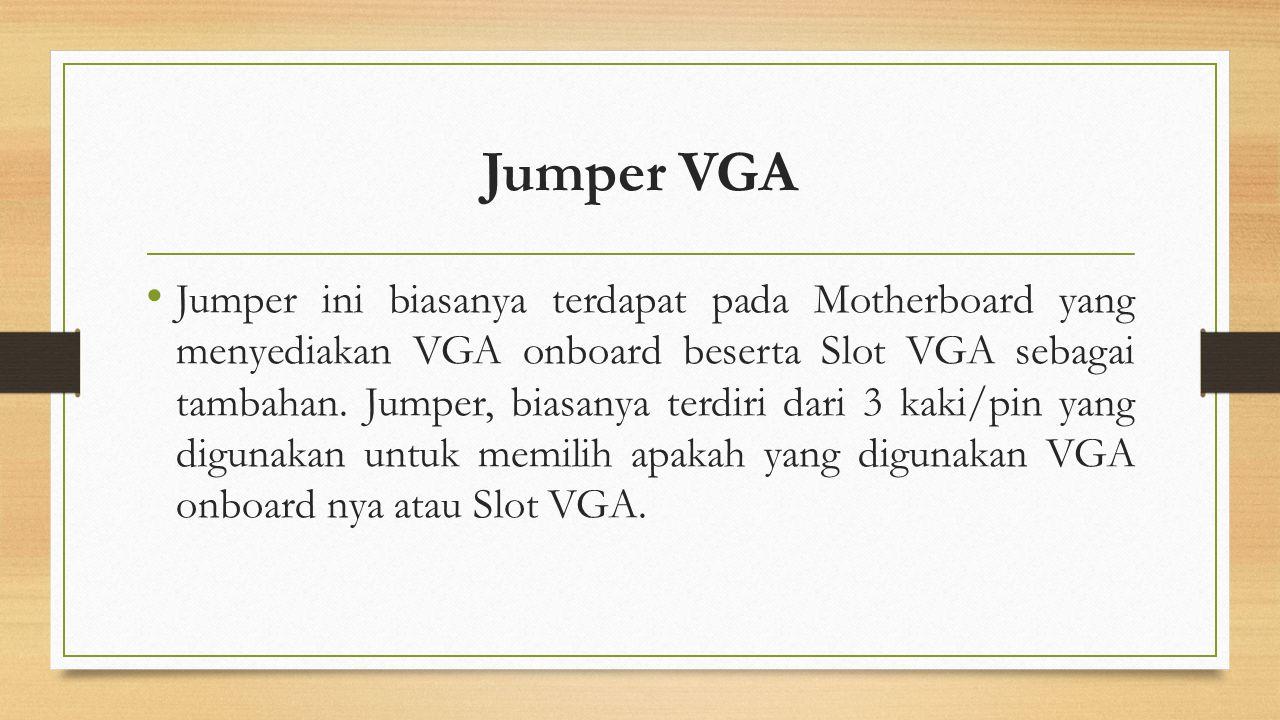 Jumper VGA