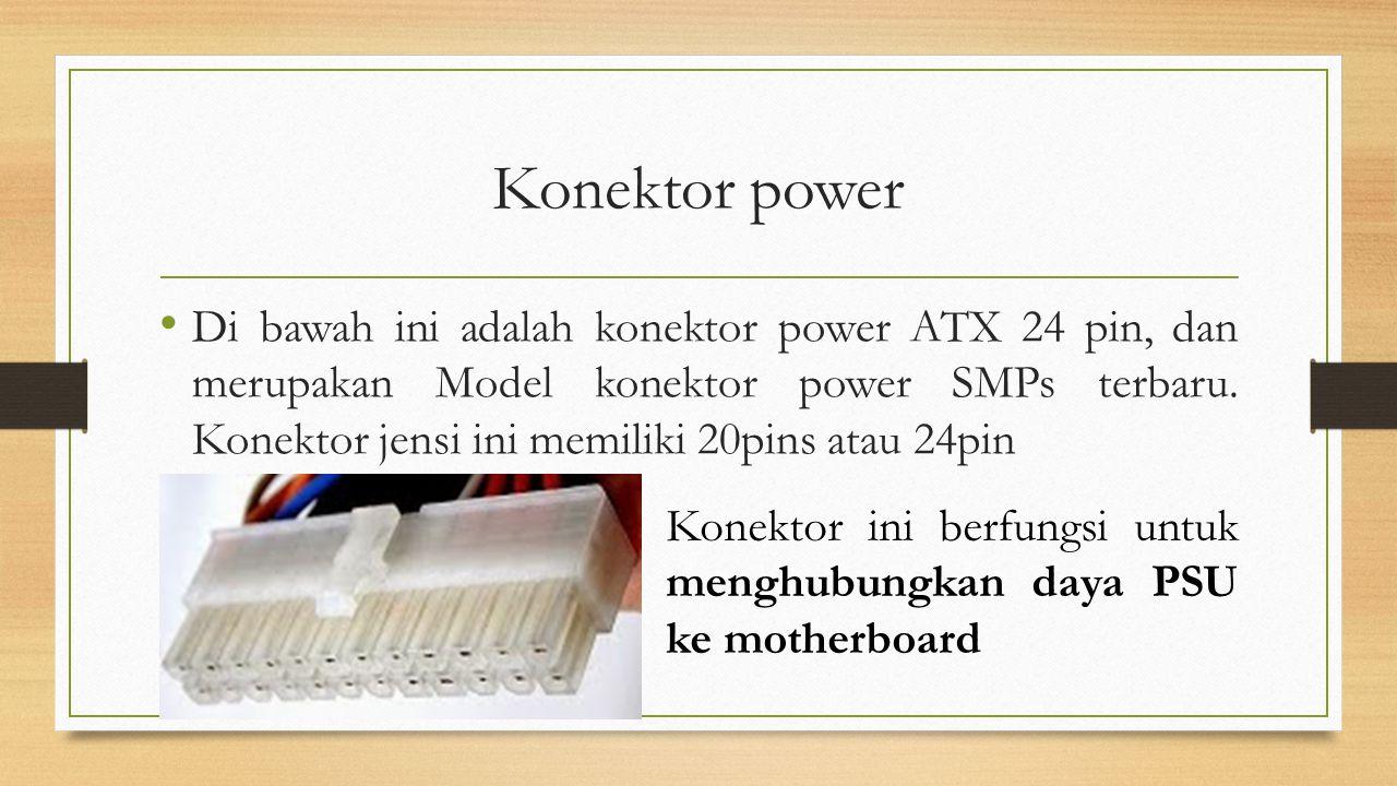 Konektor power