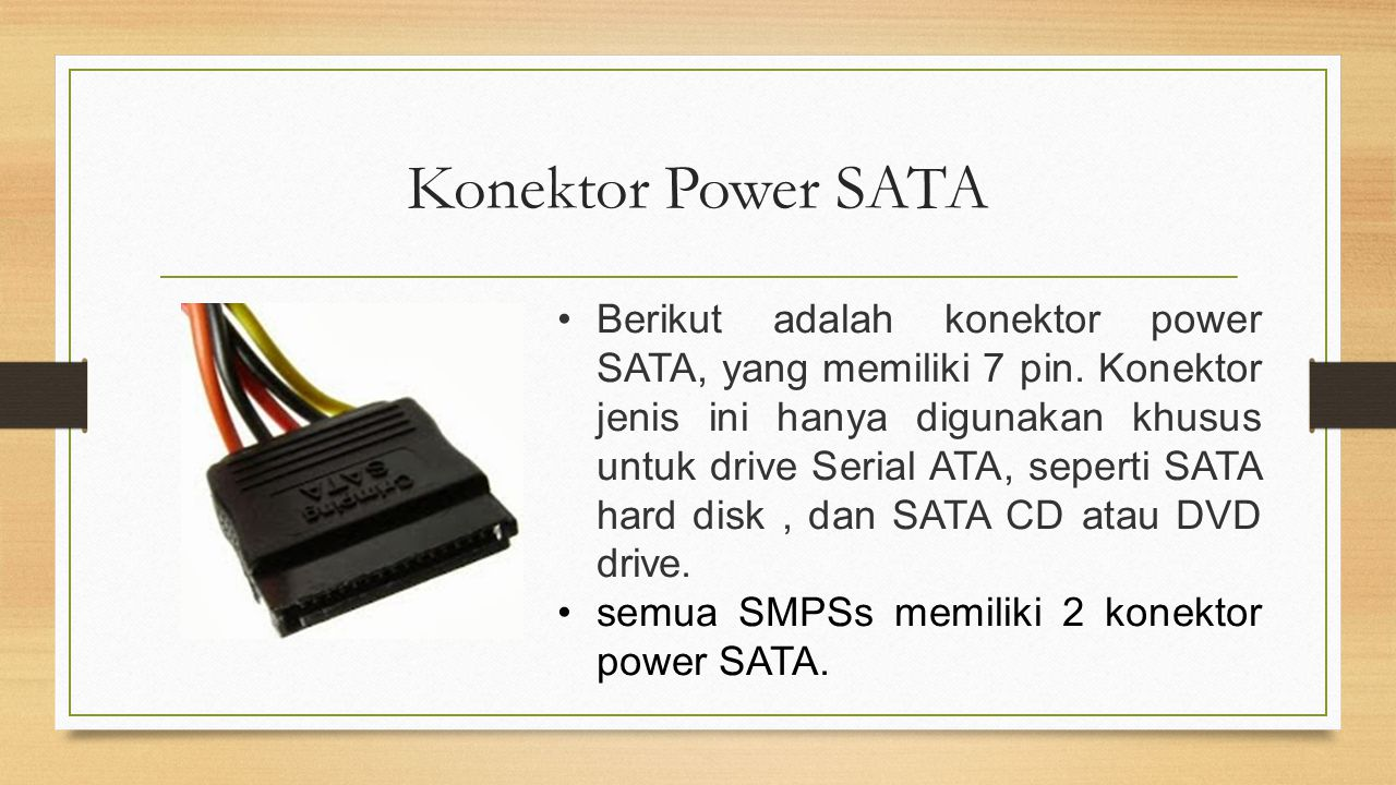 Konektor Power SATA