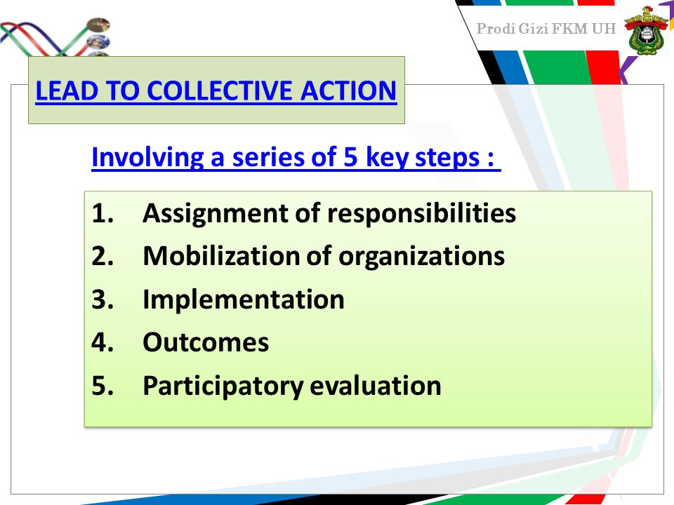 LEAD TO COLLECTIVE ACTION