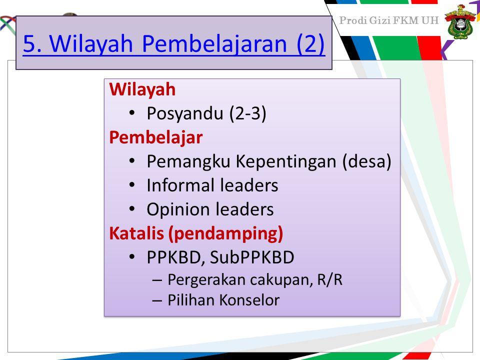 5. Wilayah Pembelajaran (2)