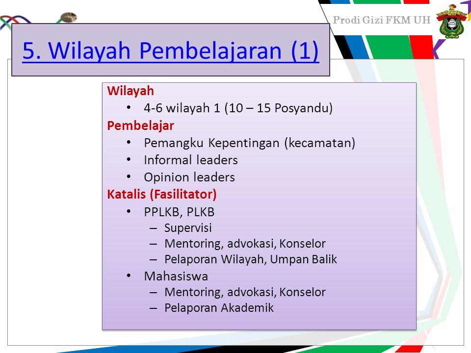 5. Wilayah Pembelajaran (1)