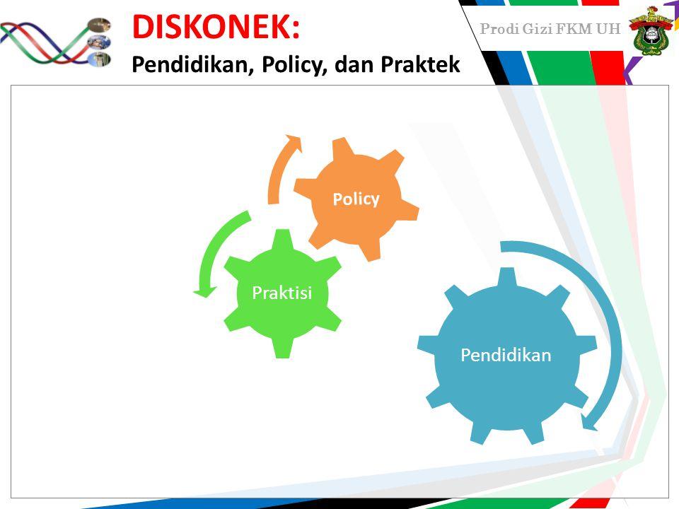 DISKONEK: Pendidikan, Policy, dan Praktek