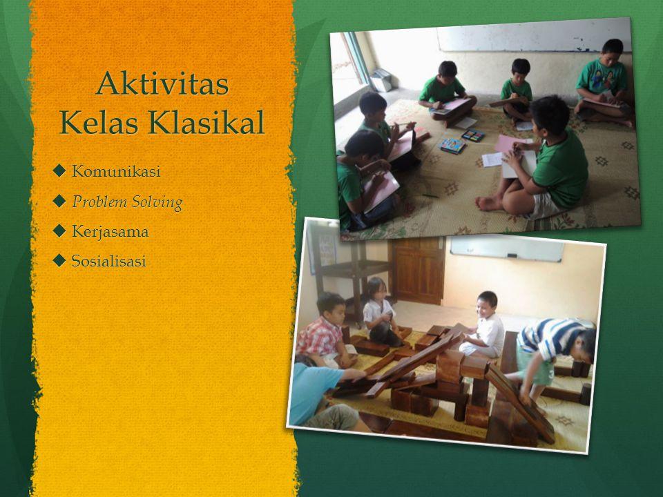 Aktivitas Kelas Klasikal