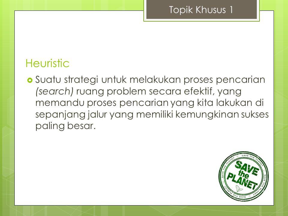 Heuristic Topik Khusus 1