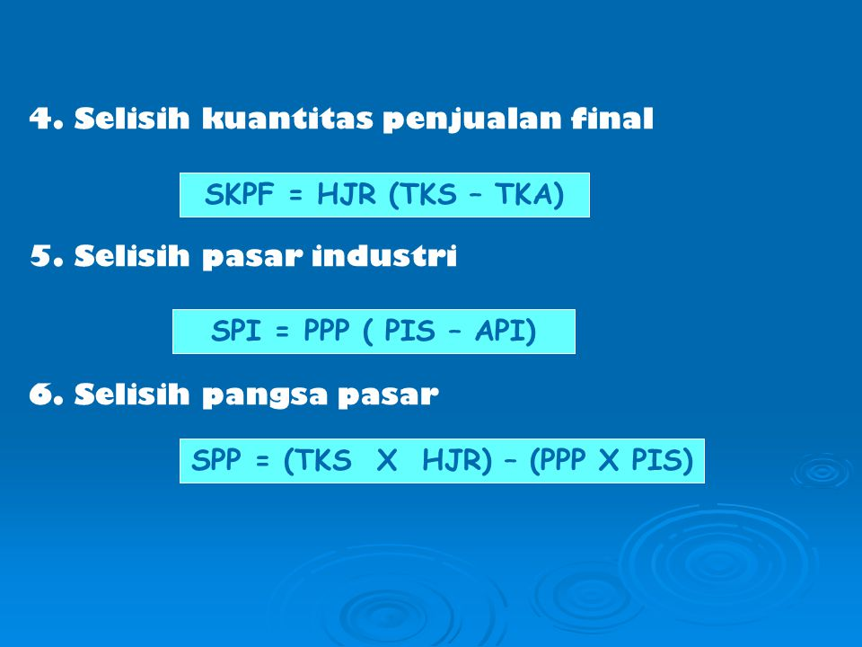 SPP = (TKS X HJR) – (PPP X PIS)