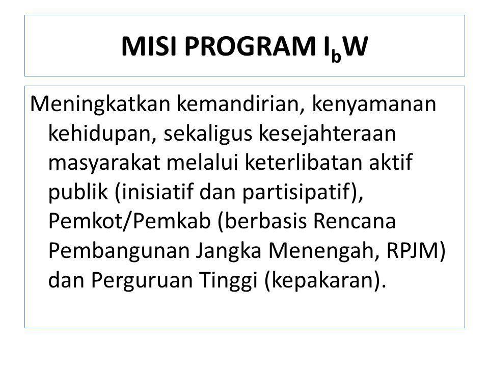 MISI PROGRAM IbW