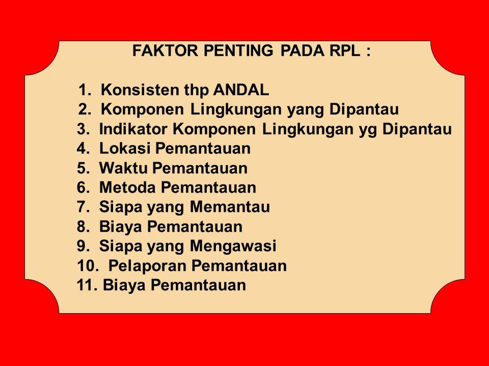FAKTOR PENTING PADA RPL :
