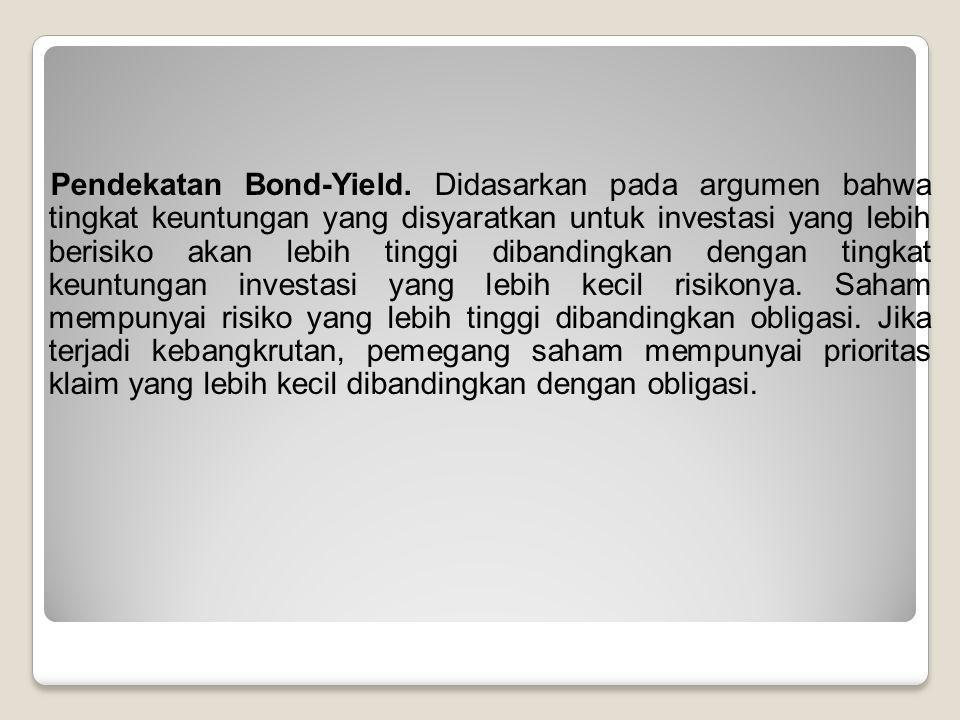 Pendekatan Bond-Yield