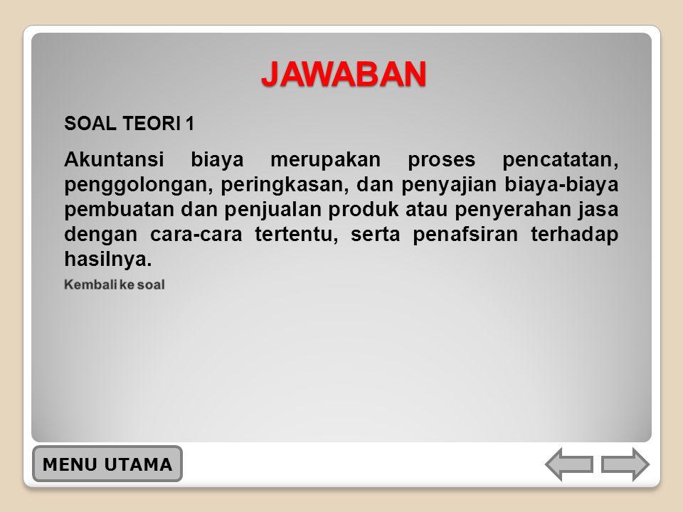 JAWABAN SOAL TEORI 1.