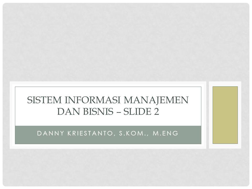 Sistem Informasi Manajemen dan Bisnis – Slide 2