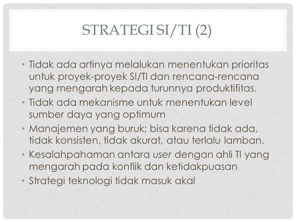 Strategi SI/TI (2)
