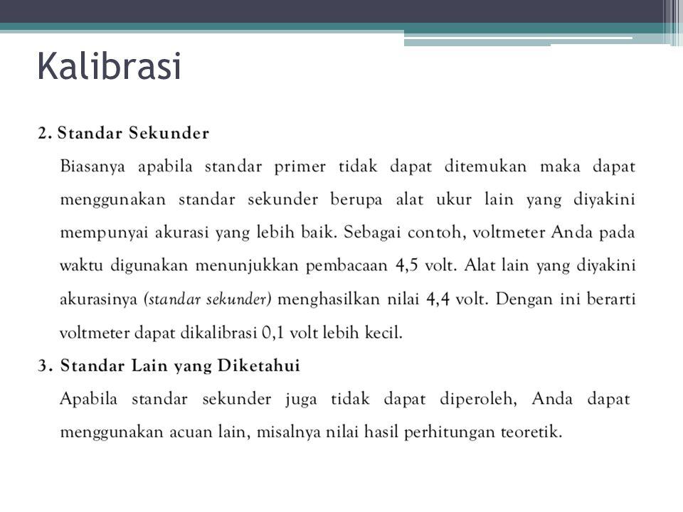 Kalibrasi