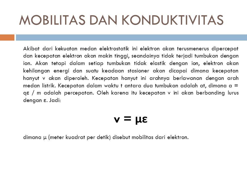MOBILITAS DAN KONDUKTIVITAS