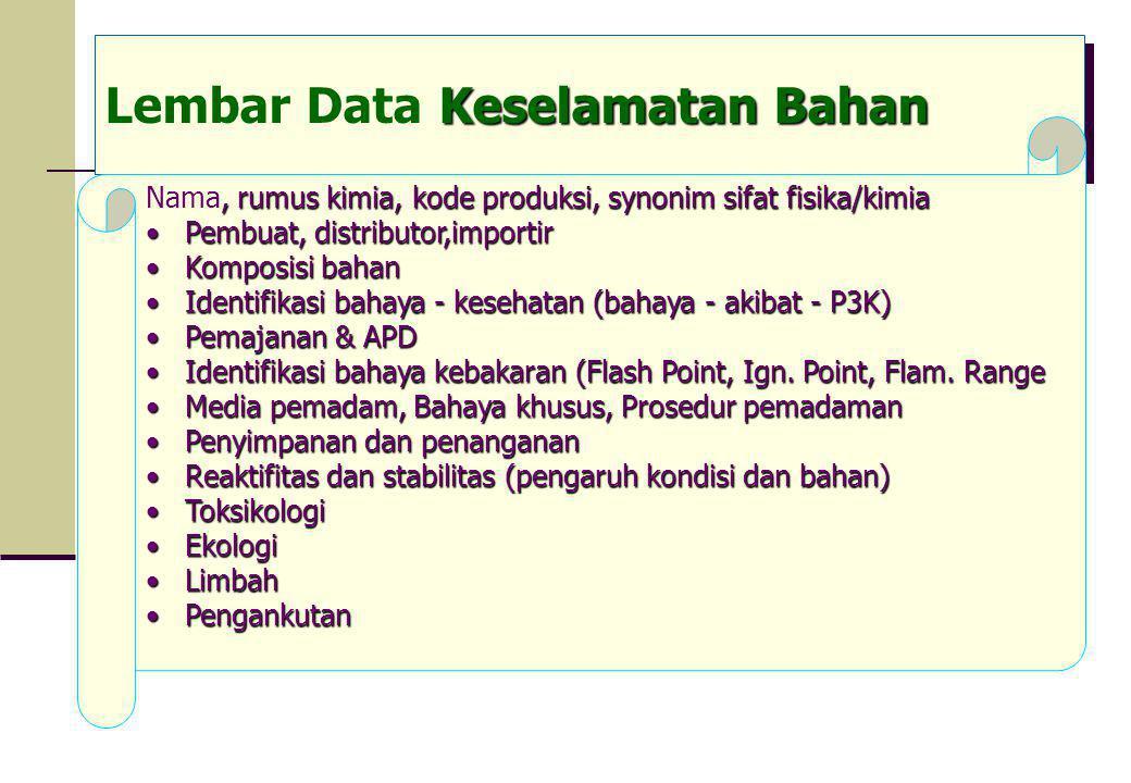 Lembar Data Keselamatan Bahan