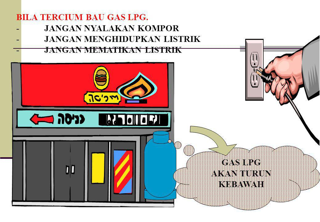 BILA TERCIUM BAU GAS LPG.
