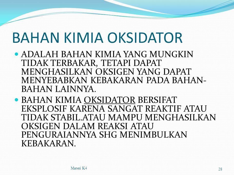 BAHAN KIMIA OKSIDATOR