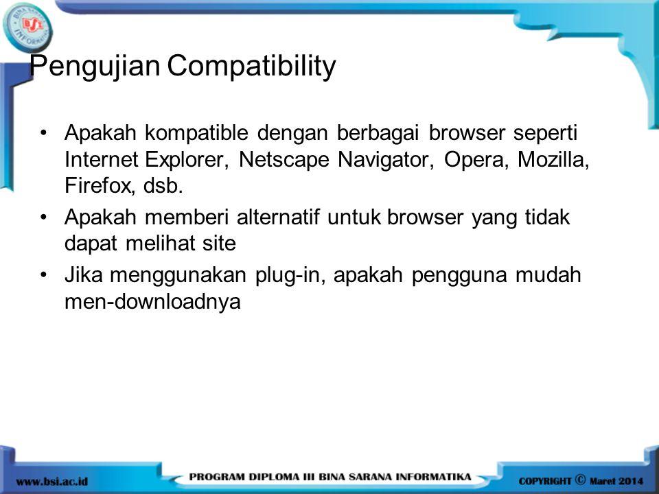 Pengujian Compatibility