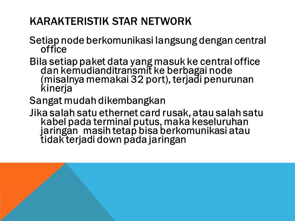 Karakteristik Star Network