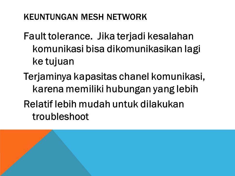 Keuntungan Mesh Network