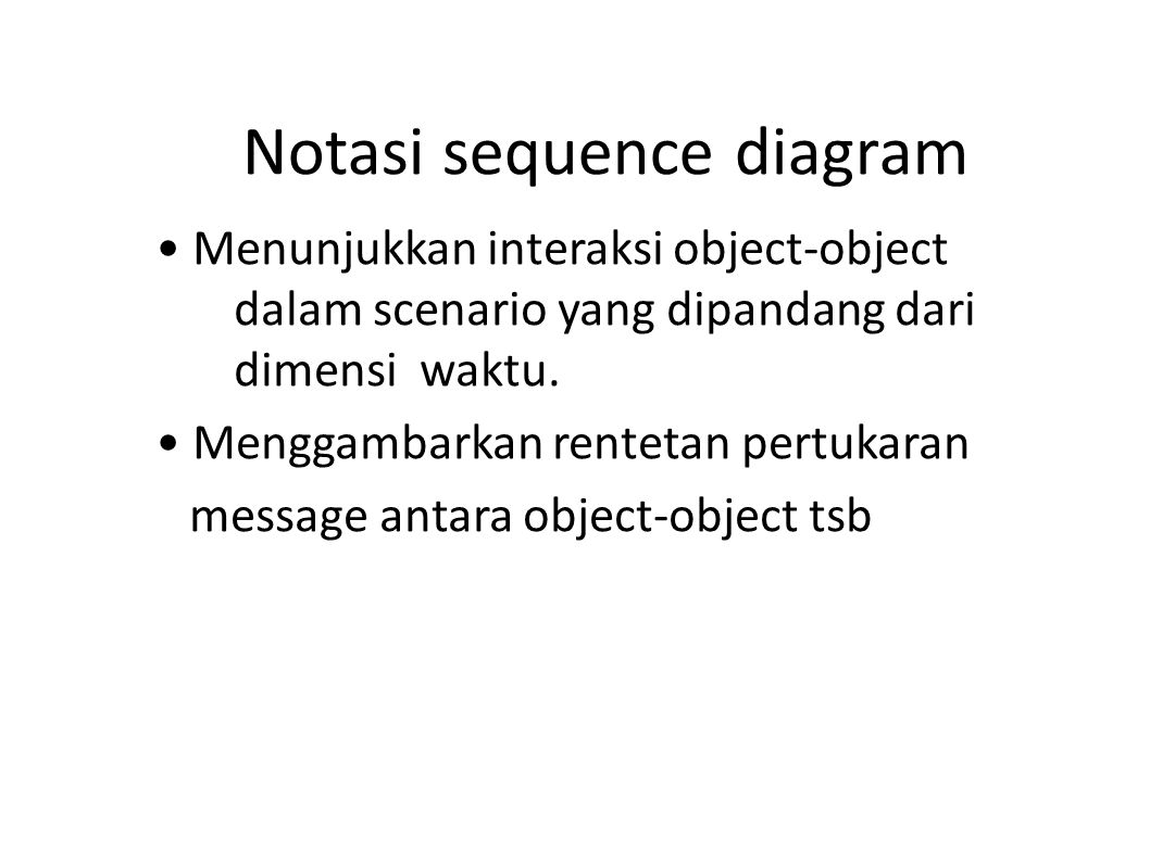 Notasi sequence diagram