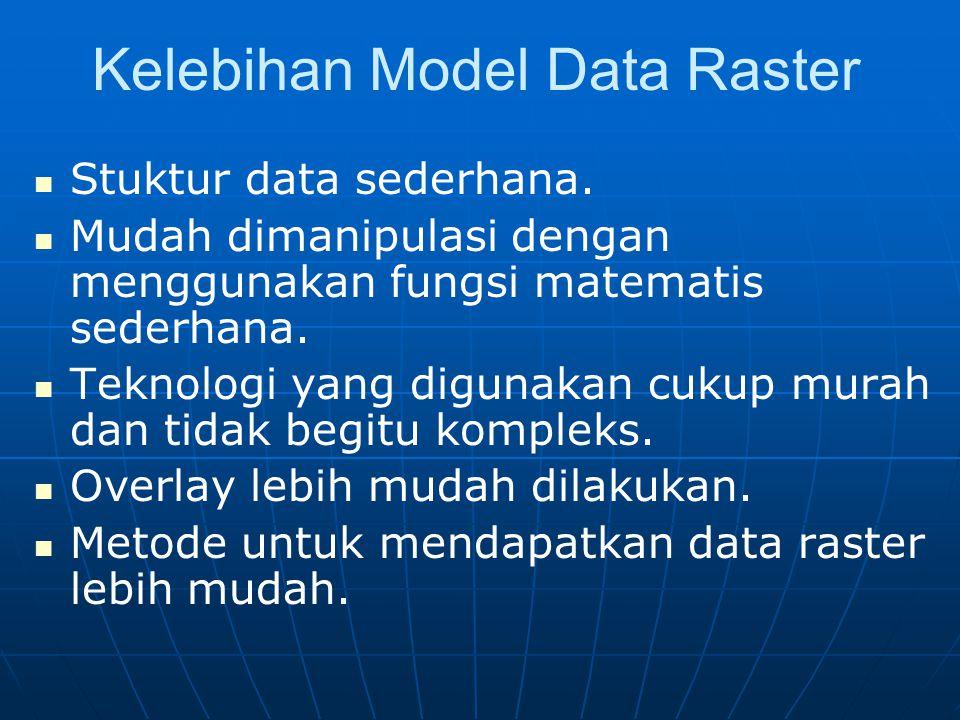 Kelebihan Model Data Raster