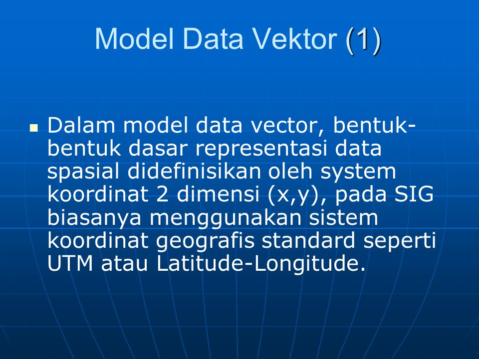 Model Data Vektor (1)