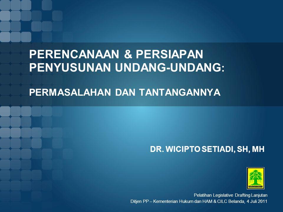 DR. WICIPTO SETIADI, SH, MH
