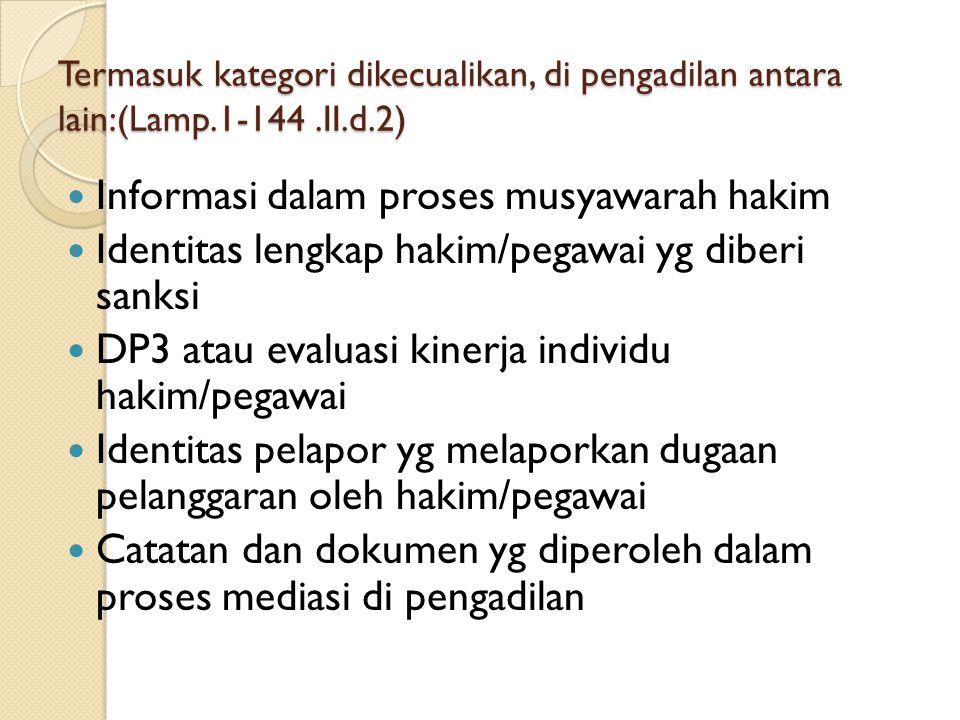 Informasi dalam proses musyawarah hakim