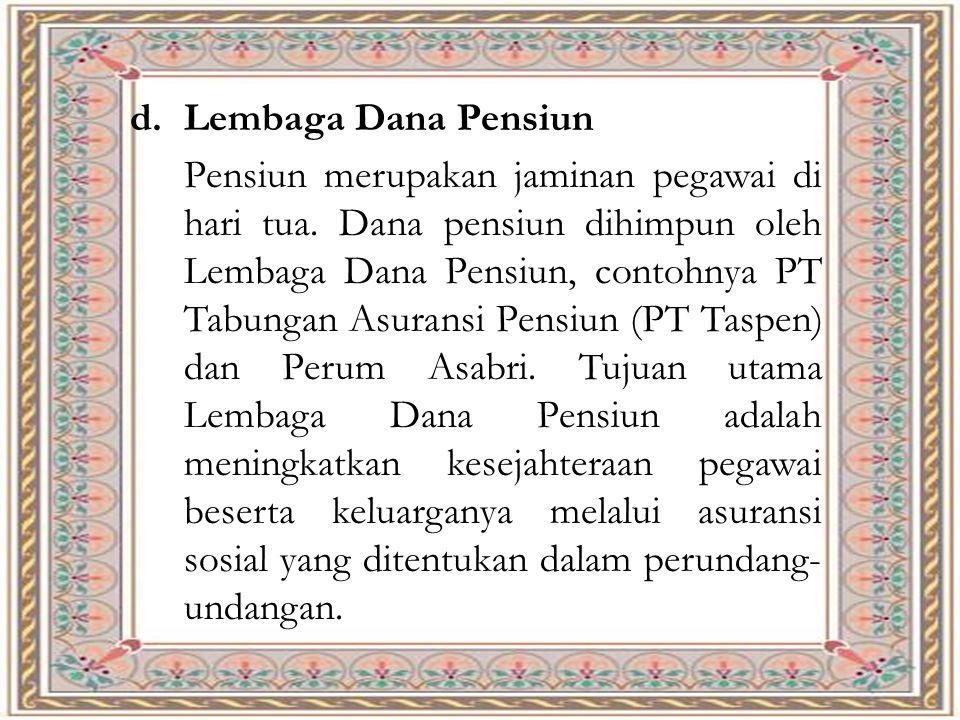 Lembaga Dana Pensiun