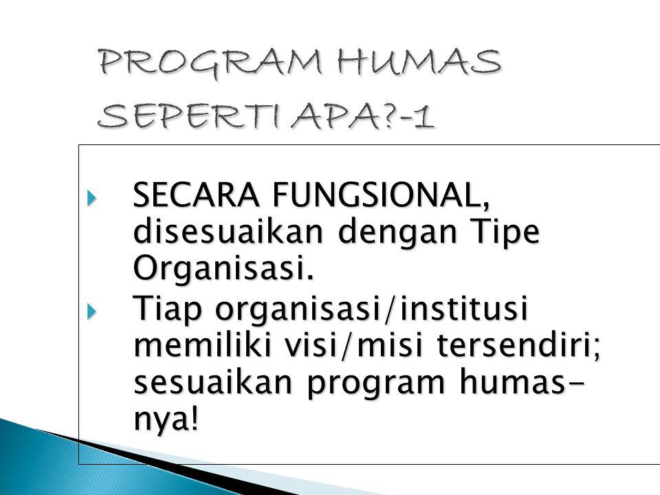 PROGRAM HUMAS SEPERTI APA -1