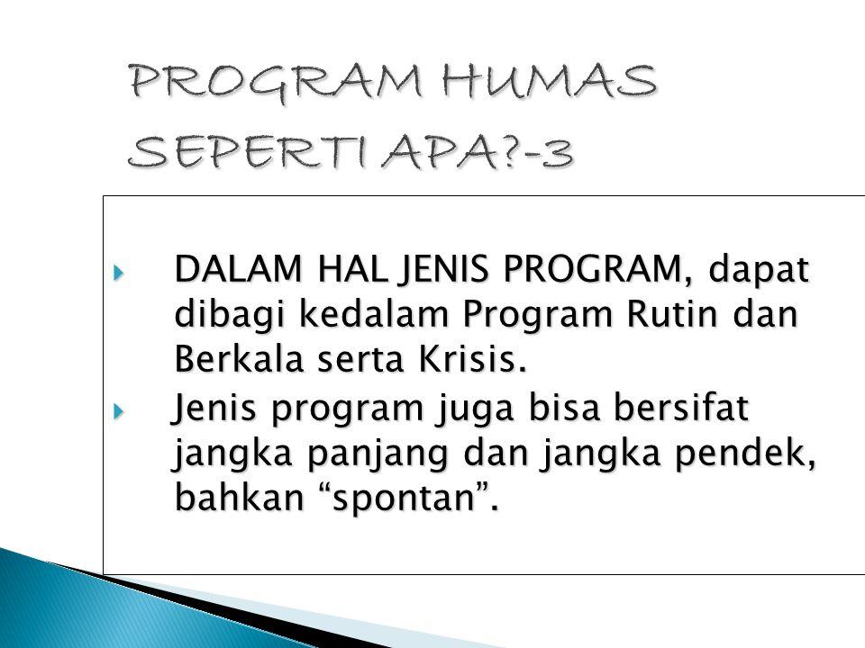 PROGRAM HUMAS SEPERTI APA -3