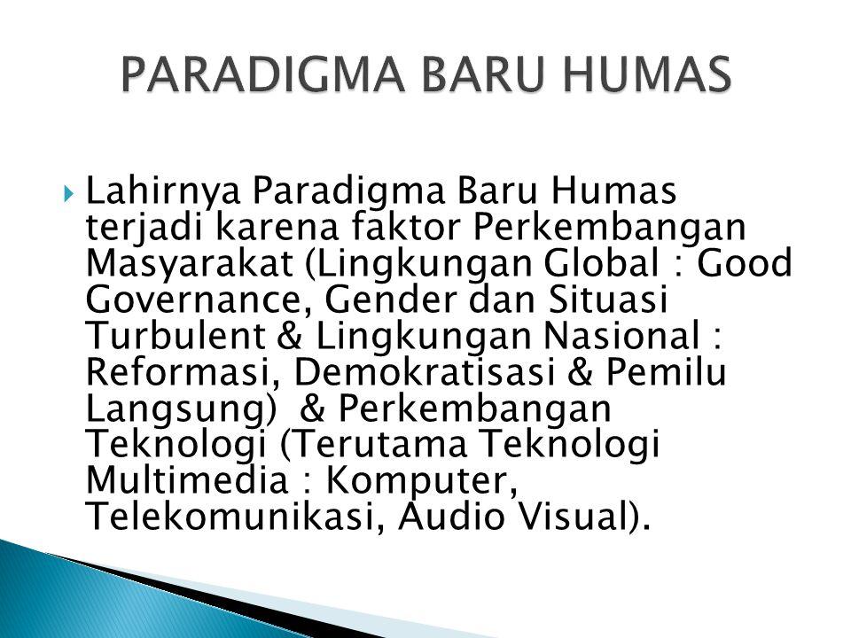 PARADIGMA BARU HUMAS