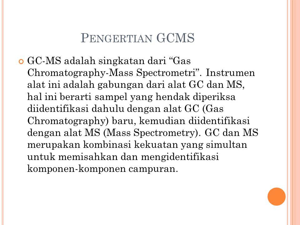 Pengertian GCMS