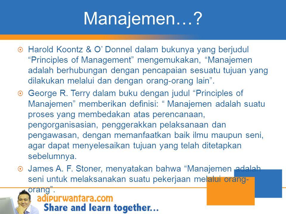 Manajemen…