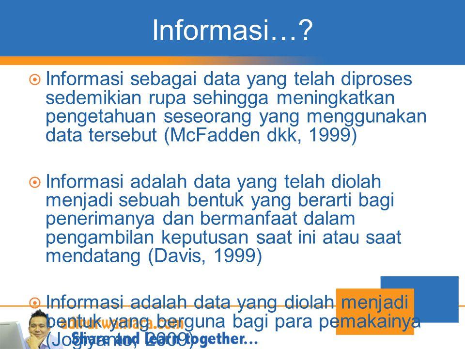 Informasi…
