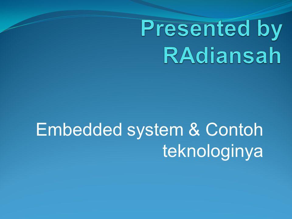 Presented by RAdiansah